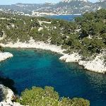 French Riviera - Cote dAzur, France: View of Calanque de Point-Pin Places To Travel, Places To Visit, Provence France, Cassis France, Fjord, Belle Villa, Parc National, French Riviera, South Of France
