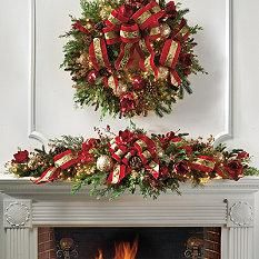 Christmas Centerpieces - Christmas Swag - Frontgate