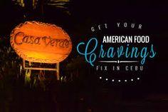 Image result for Casa Verde in Cebu American Food, Cebu, Food Cravings, Neon Signs, Image, All American Food, Women's Side Tattoos, Cebu City
