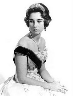 Queen Sofia of Spain. Born HRH Princess Sophia Margaret Victoria Frederica of Greece and Denmark, the eldest child of HM King Paul I and Queen Frederica of the Hellenes.