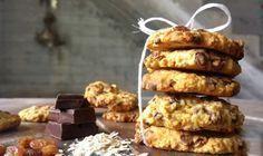 Υγειεινά Cookies χωρίς ζάχαρη !!! ~ ΜΑΓΕΙΡΙΚΗ ΚΑΙ ΣΥΝΤΑΓΕΣ Sugar Free Desserts, Low Carb Desserts, Healthy Sweets, Healthy Eating, Sweet Recipes, Cake Recipes, Biscuit Cookies, Brownie Cookies, Sweet Tooth