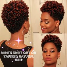 This video is live on my channel! Link in bio! Tapered Twa Hairstyles, Girls Natural Hairstyles, Diy Hairstyles, Haircuts, Bold Hair Color, Hot Hair Colors, Hair Color And Cut, Tapered Natural Hair Cut, Natural Hair Twists