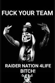 Image result for pink and black raiders images skulls