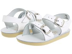 Salt Water Sandal by Hoy Shoes Sun-San - Sea Wees (Infant/Toddler) White - Zappos.com Free Shipping BOTH Ways