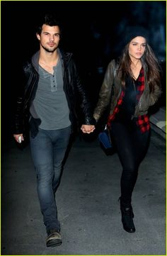 Taylor Lautner et Marie Avgeropoulos