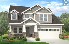 Craftsman House Plan with 2470 Square Feet and 4 Bedrooms from Dream