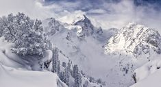 Grand Teton National Park WY. Avalanche Canyon. [2048 x 1109] My buddy Simon took this. Amazing photographer. #reddit