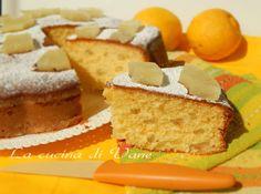 Torta soffice ananas e limone
