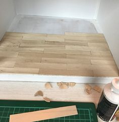 De houten vloer in mijn poppenhuis – Skattich