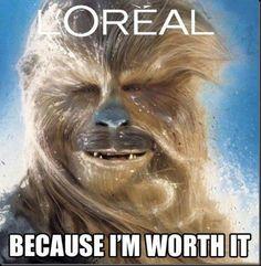 Because I'm worth it #humor #starwars