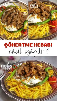 How to Make Çökertme Kebab / Bodrum Kebab Recipe? Illustrated explanation of this recipe in the book of 367 people … Kebab Recipes, Pie Recipes, Homemade Beauty Products, Yummy Food, Delicious Recipes, Health Fitness, Food And Drink, Favorite Recipes, Pasta
