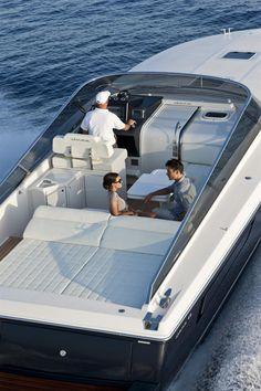External view Itama Yacht - Itama45 #yacht #luxury #ferretti #itama