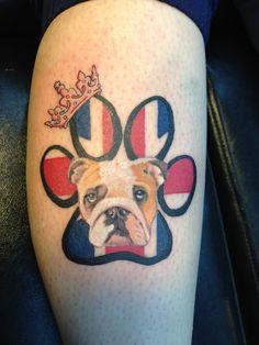 bulldog tattoos the best designs | French Bulldog Cigar Painting
