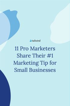 Wish you had a marketer in your back pocket to give you advice on small business marketing? Now you do. Read the 11 expert tips in our latest guide. Marketing Guru, Marketing Budget, Influencer Marketing, Small Business Marketing, Online Business, Email Marketing, Content Marketing, Business Advice, Business Entrepreneur