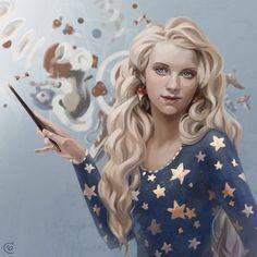 ArtStation - Luna Lovegood, Serafima Brovkina