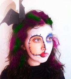 Maquillaje Halloween fácil. Easy Halloween make-up