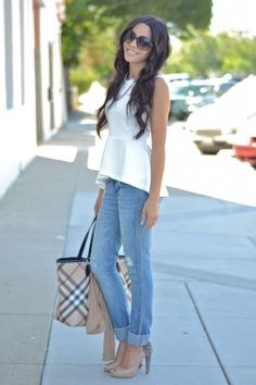 #Cute Casual Outfits Designs - Fashall