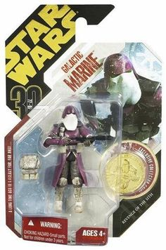 Star Wars Ultimate Galactic Hunt Galactic Marine Action Figure with Vac-Metalized Gold Colored Coin Star Wars Action Figures, Star Wars Toys, Clone Trooper, Black Series, 30th Anniversary, Gold Coins, Revenge, Stars, Wrangler Shirts