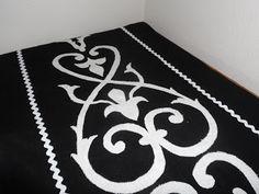 ~ use white linen and make design