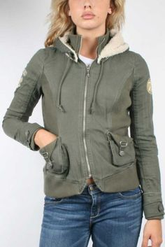 Affliction Black Premium - Womens Dylan Jacket In Miltary Green, Size: Small, Color: Miltary Green Affliction. $147.95