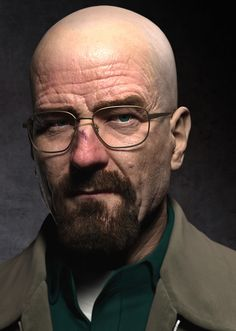 3D model - Walter White - Breaking bad