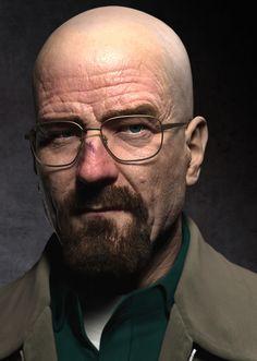 3D model - Walter White - Breaking bad