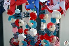 Great for Red, White and Blue Celebration