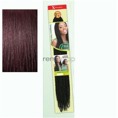 "Wed Jan 25, 2017 - #7: X-Pression Braid Senegalese Twist Small 18""SM - Color 950 - Synthetic Braiding"