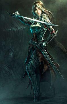 Blade maiden by gegig on DeviantArt