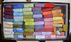 How do you choose just 30 pastels for a painting trip? http://www.karenmargulis.com/