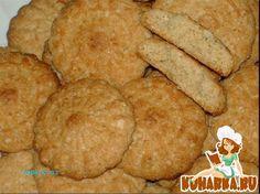 Рецепт: Овсяное печенье по-арабски