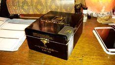 Cigar Box L'Atelier Black & Gold Top Shelf by IndustrialPlanet
