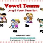 Use this vowel teams sort for a small group,literacy center, or write the room activity. This lesson reviews the different vowel patterns for Long ...