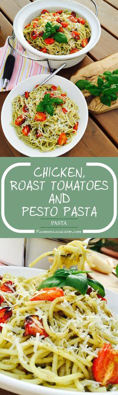 This chicken, roast tomatoes & homemade pesto pasta is a must-try recipe, a delightful and satisfying dish for all ages.