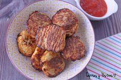 Tapitas y Postres: Tots de coliflor y jamón al horno