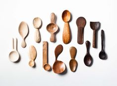 In 2014, Stian Korntved Ruud hand-carved a different wooden spoon every single…