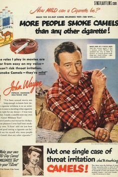 Vintage tobacco advertising: how cigarette adverts have changed over the years