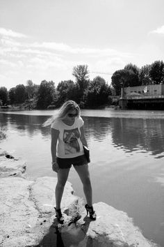 Photo shoot by the Arno in Florence, Italy Jacqueline Tamm Artist, blogger, interior designer
