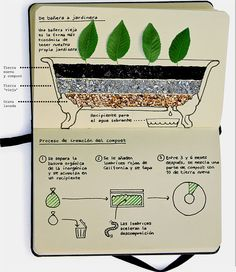Una tina vieja se convierte en una jardinera bonita, útil y única. An old bathtub can be turned into a beautiful, unique and functional flowerbed. Diy Projects To Try, Garden Projects, Compost, Porches, Old Bathtub, Garden Planters, Water Features, Organic Gardening, Garden Landscaping