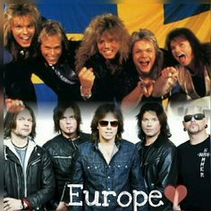 156 Best Europe The Band images in 2018 | Europe, Europe