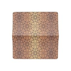 Floral luxury royal antique pattern checkbook cover - patterns pattern special unique design gift idea diy