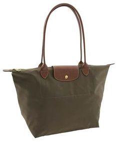 Longchamp Le Pliage Large Folding Tote Bag Slate   Longchamp Outlet 3cc82f3374cf5