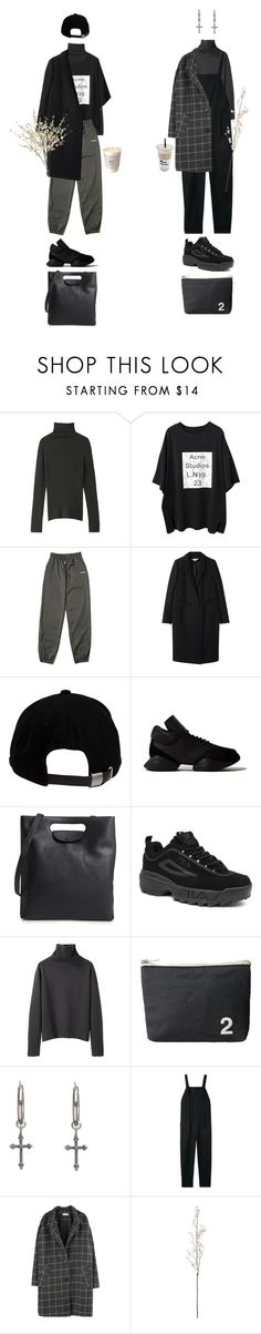 """""""stay"""" by jayda-xx ❤ liked on Polyvore featuring Margaret Howell, Carven, Brixton, INC International Concepts, Rick Owens, Steven Alan, Fila, Rachel Entwistle, Base Range and men's fashion"""