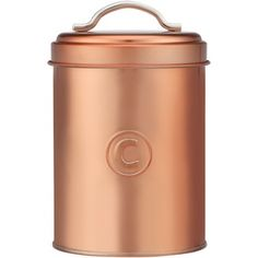 Stevens Metallico Copper Coffee Canister
