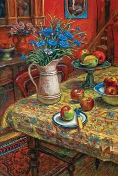 Untitled - Still Life, Margaret Olley Art Works, Australian Artists, Impressionist Art, Australian Art, Art Auction, Painting Inspiration, Painting, Illustration Art, Art