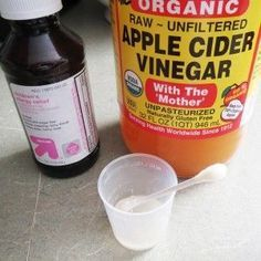 How to get rid of canker sores... 1tsp of Childrens liquid Benadryl mixed with 1 tsp of Apple cider vinegar. Dab with q tip