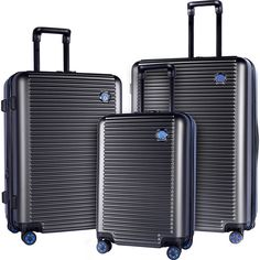 Travelers Club Luggage Beijing 3pc Expandable Hardside Luggage Set NEW The Travelers Club Beijing 3-Piece Collection is designed at the intersection o... #luggage #hardside #expandable #beijing #travelers #club