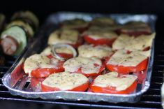 Zdrowa Kuchnia | Grillowane pomidory z serem Sausage, Grilling, Vegetables, Food, Diet, Sausages, Crickets, Essen, Vegetable Recipes