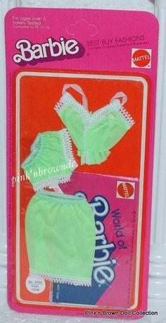 Barbie Best Buy Fashion Collectible Fun Favorites 2555 NRFP 1975 Undergarments | eBay