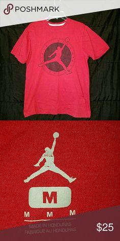 25f0485ccf2853 Jordan tee Air jordan flight club tee (red) great condition Jordan Shirts  Tees -